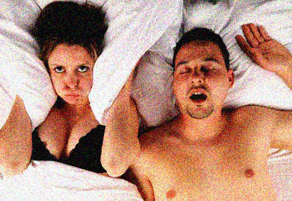 Snoring can be a pain for everyone!